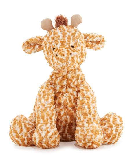 Jellycat Huge Fuddlewuddle Giraffe Stuffed Animal, Tan/Cream