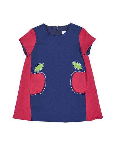 Colorblock Ponte Shift Dress