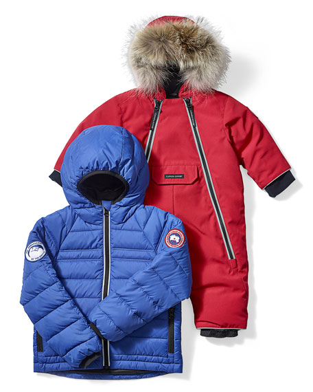 1057344a30ab Canada Goose Kids  Bobcat Hooded Jacket