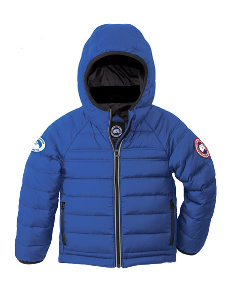 Canada Goose Kids' Bobcat Hooded Jacket, Royal Blue,