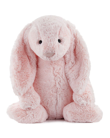 Huge Bashful Bunny Stuffed Animal, Pink