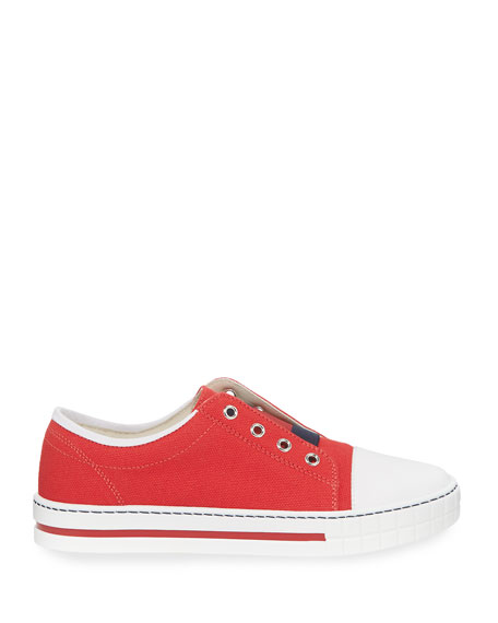 Canvas Slip-On Sneakers, Toddler