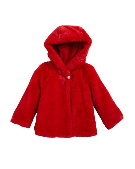 Mayoral Hooded Reversible Parka Jacket, Size 12-36 Months