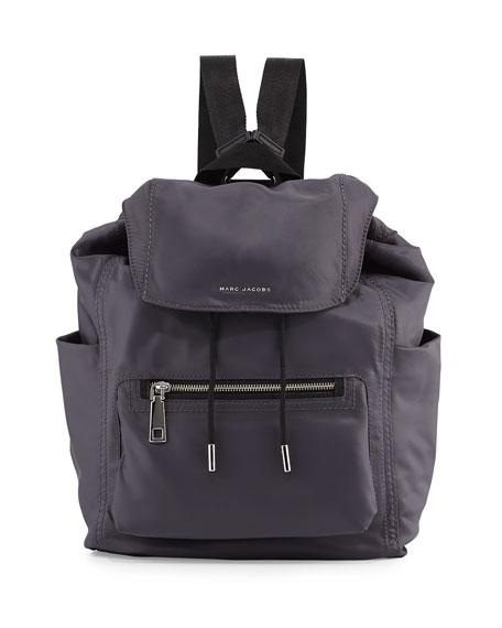 Easy Baby Backpack/Diaper Bag, Gray