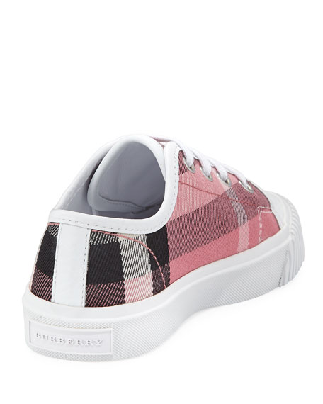 Check Low-Top Sneaker, Toddler