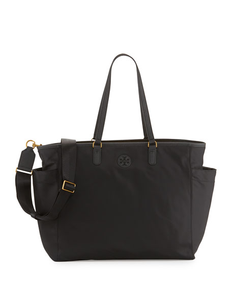 Scout Nylon Baby Tote Bag, Black