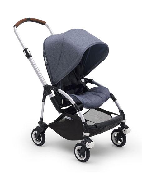 Bee⁵ Complete Stroller, Blue Melange