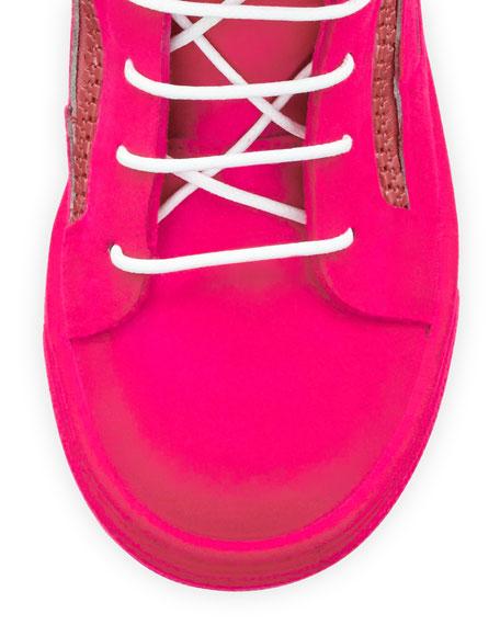 Kids' Smuggy Velvet Sneaker, Youth