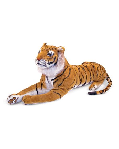 Melissa & Doug Giant Plush Tiger Stuffed Animal