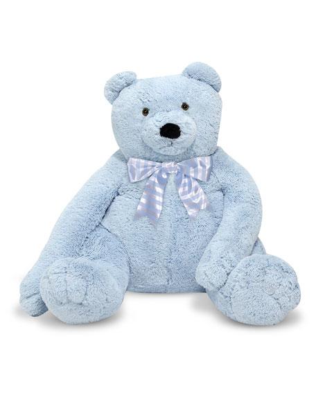 Jumbo Teddy Bear, Light Blue