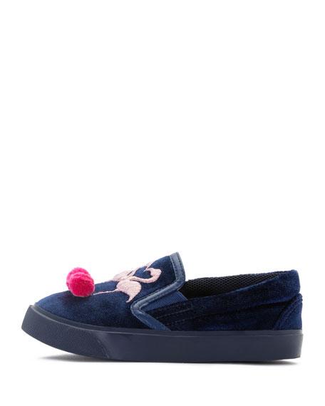 Kingston Flamingo Sneaker, Blue, Toddler/Youth