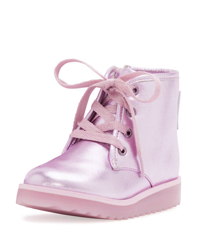 Wiley Royalty Leather Boot, Pink, Toddler/Youth