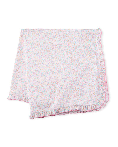 Darling Dachshunds Pima Blanket, Pink