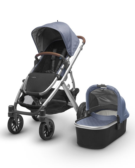 VISTA™ All-in-One Stroller, Henry (Blue Marl)
