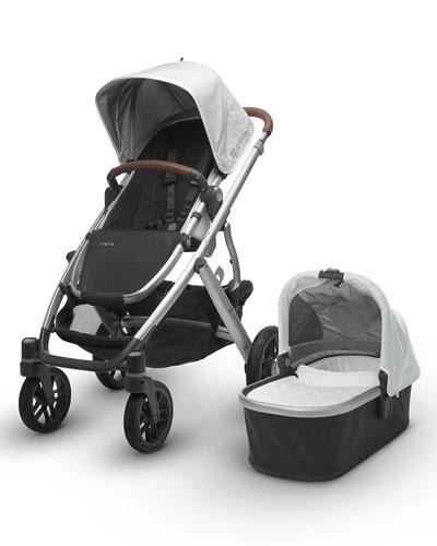 VISTA™ All-in-One Stroller, Loic (White)