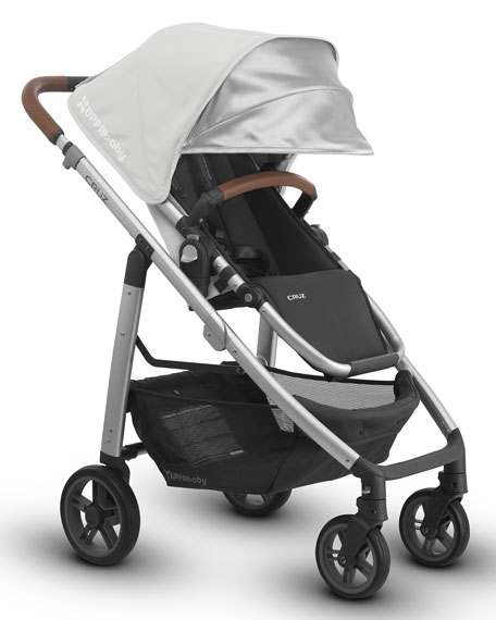 UPPAbaby CRUZ™ Compact Stroller, Loic (White)