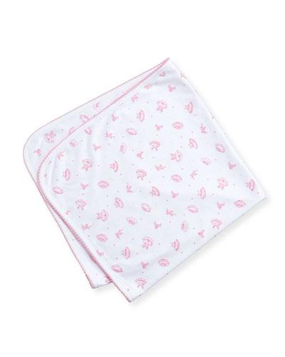 Tiny Tutus Print Baby Blanket