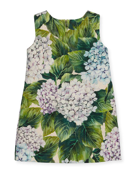 Taormina Sleeveless Dress, Hydrangea, Size 8-12
