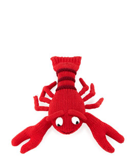 Larry the Lobster Baby Rattle