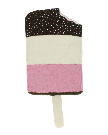 Popsicle Wool Felt Wall Mount, Pink