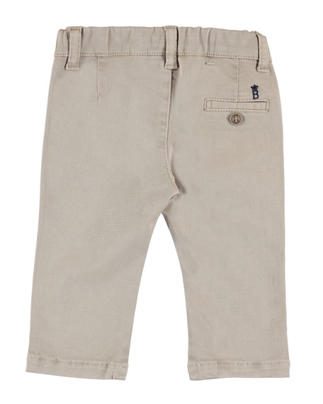 Basic Twill Trousers, Size 6-36 Months