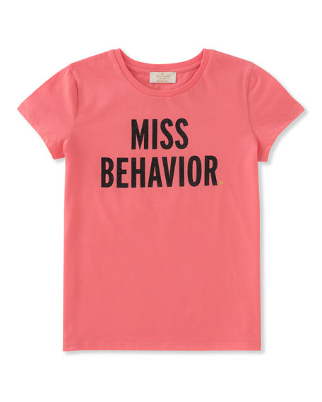 miss behavior tee, size 2-6
