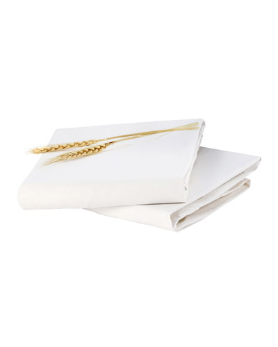 Luxo Fitted Crib Sheet Set