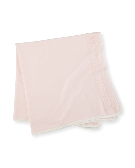 Take Me Home Pointelle Baby Blanket