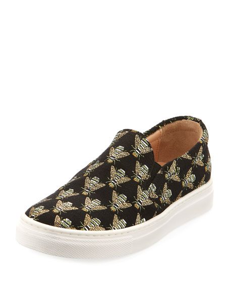 Cosmic Slip-On Bee Sneaker, Toddler/Youth