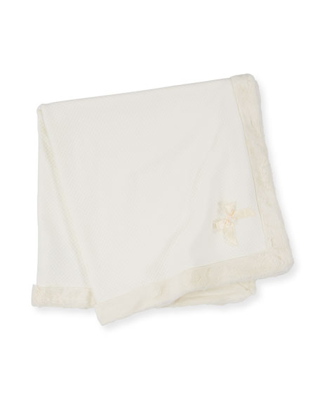 Patachou Quilted Padded Baby Blanket