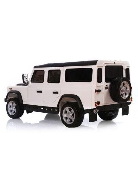 Land Rover Defender 12V Ride-On Car