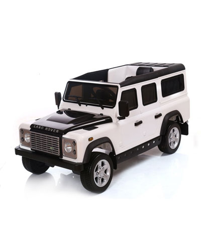 Land Rover Defender 12V Ride-On Car