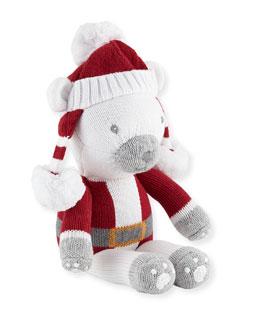 Boys' Polar Bear Santa Doll, 14