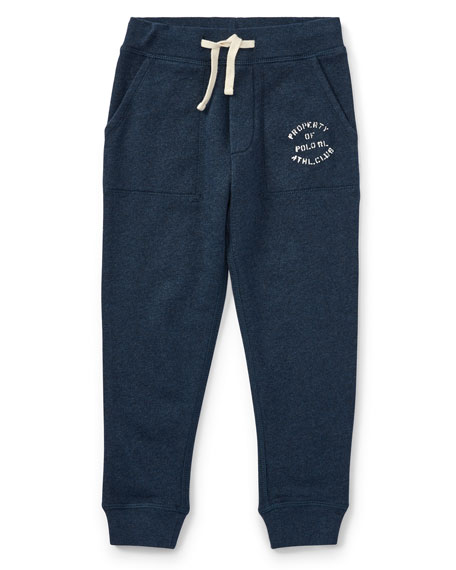 Lightweight Terry Sweatpants, Size 2-4