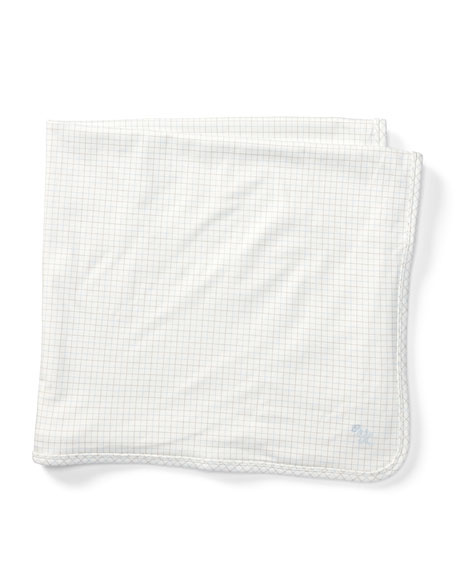 Tattersall Cotton Baby Blanket, Multi