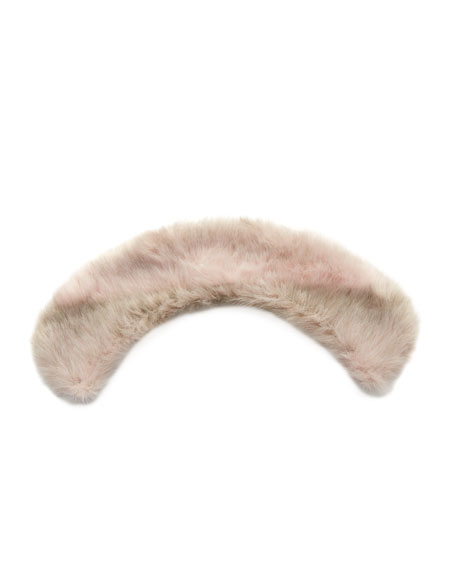 Kid's Faux-Fur Snood, Pink