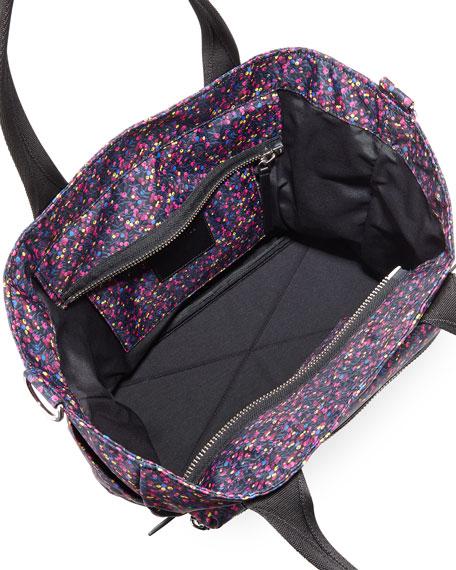 Mixed Berries Printed Biker Diaper Bag