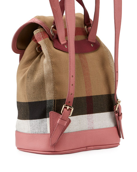 f899284a8566 Burberry Kids  Cloud Check Backpack