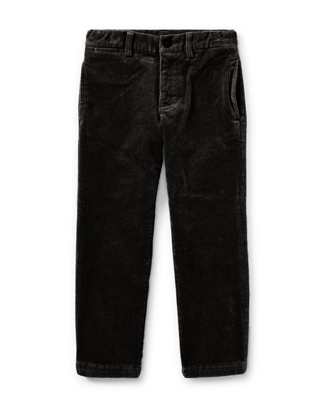 Suffield 10-Wale Corduroy Pants, Black, Size 5-7