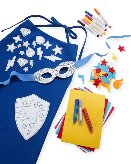 Design Your Superhero Cape Kit