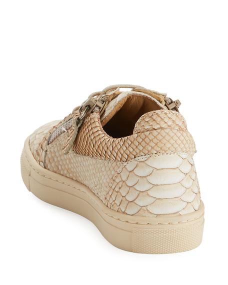Dorian Faux Snake Sneaker, Toddler