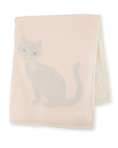 Cashmere Kitty Cat Baby Blanket