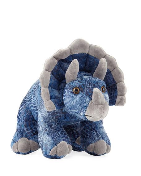 "Deisyl Triceratops Stuffed Animal, 14"""