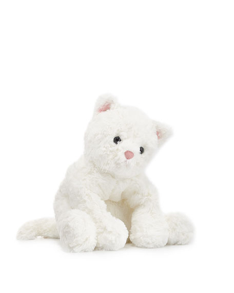 Cat Cozy Stuffed Animal, 10""