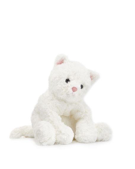 "Cat Cozy Stuffed Animal, 10"""