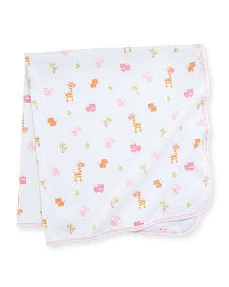 Safari Stroll Pima Baby Blanket