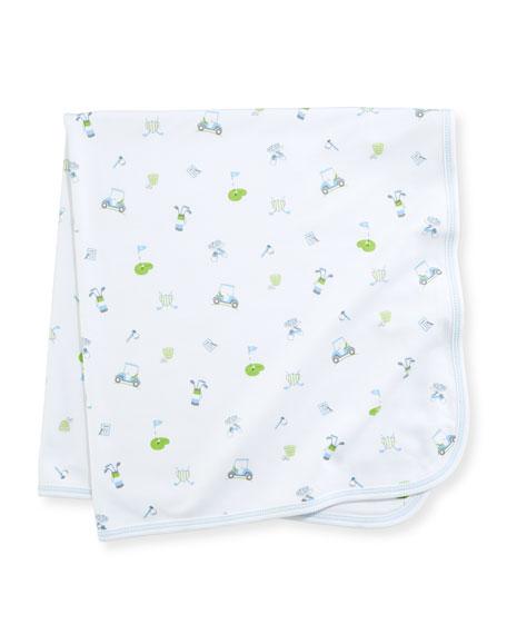 Daddy's Caddy Pima Baby Blanket