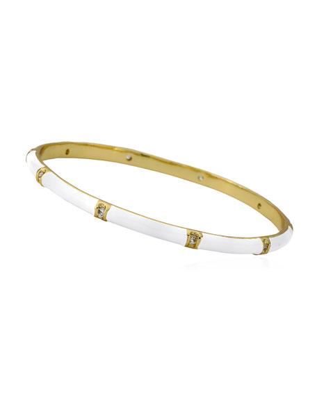 LMTS Girls' 14k Gold Plated Brass Station Enamel