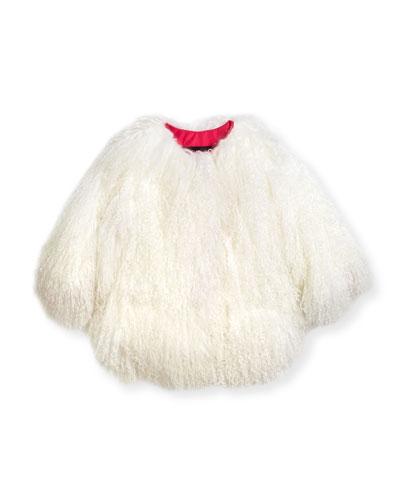Lamb Fur Jacket  Size 2T-12Y