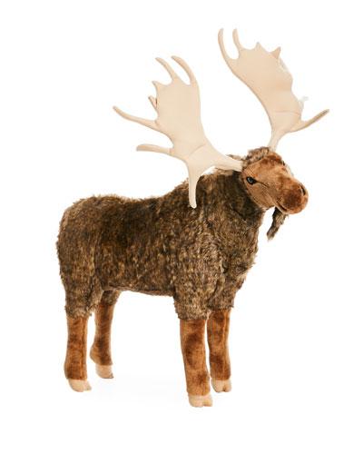Large Plush Moose